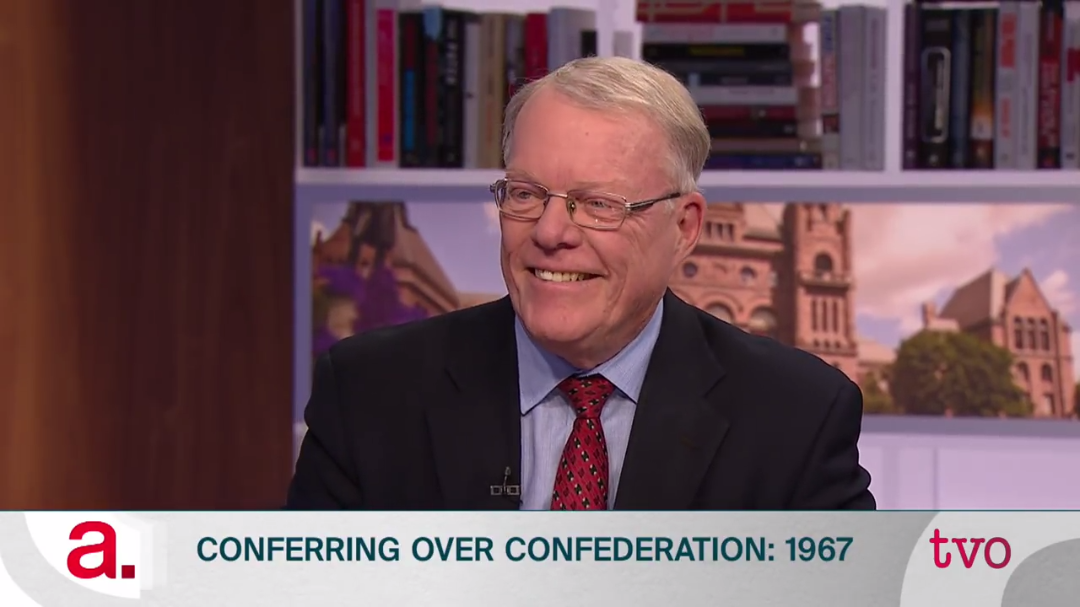 Counsel's Charles Beer discusses historic confederation conference on The Agenda