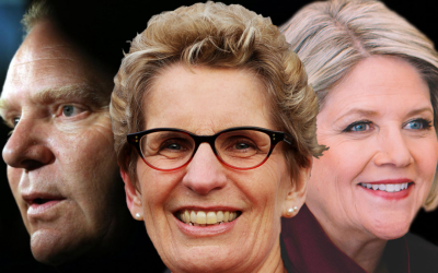 Ontario Votes 2018: State of the Race | Week 4: Wynne Bows Out as  Horwath and Ford Race to a (Photo?) Finish