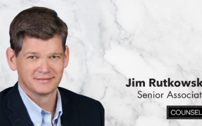 Jim Rutkowski Joins Counsel Public Affairs